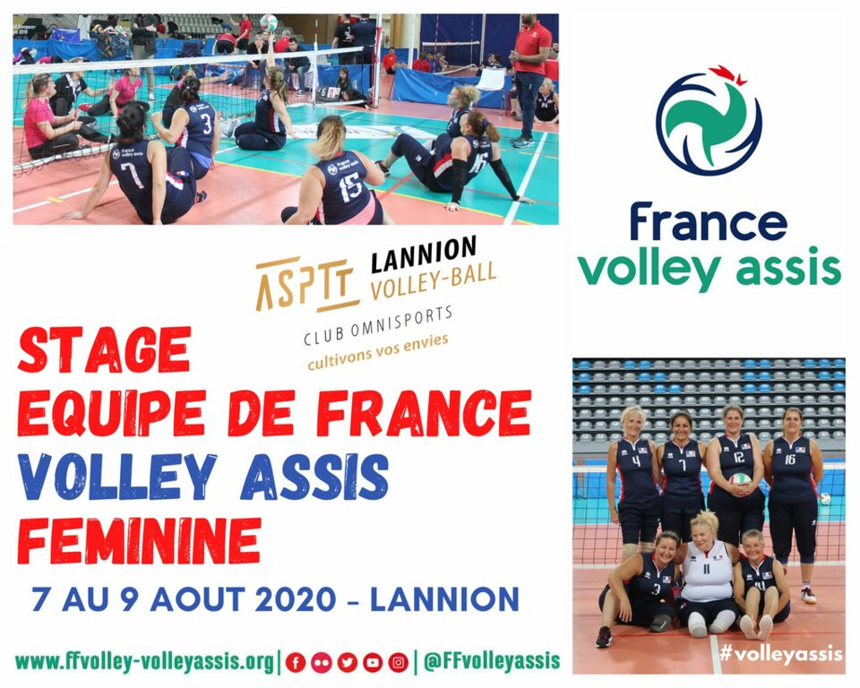 Stage Equipe de France Féminine - #volleyassis
