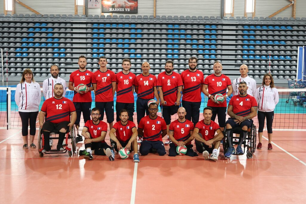 Stage Equipe de France Masculine - #volleyassis